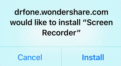 installare Screen Recorder app