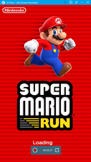 record super mario run