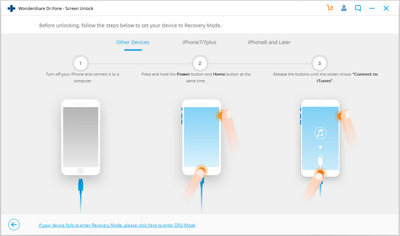 how to unlock iphone 5 passcode without itunes-set your device in DFU mode