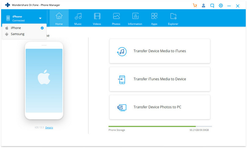how to transfer photos from iphone to iphone without icloud