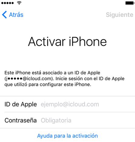 activar iPhone
