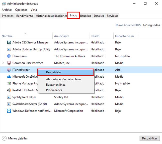 iTunes helper windows