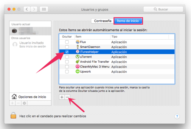iTunes helper de mac