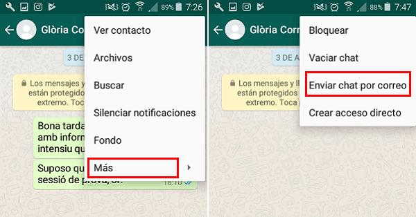 transferir mensajes de WhatsApp de Android a iPhone