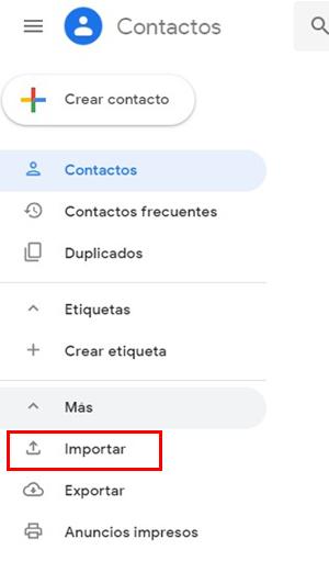 conectar Android a PC y exportar contactos