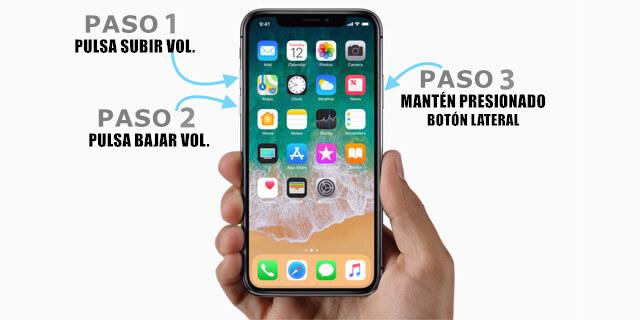 pantalla de iphone xs (max) no responde-forzar reinicio en tu iphone xs/xr