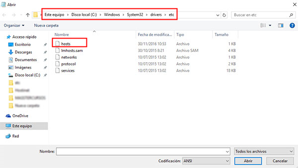 error 3194 de itunes-encuentra archivos del host de windows