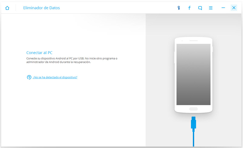 Borrar datos de teléfonos y tablets Android