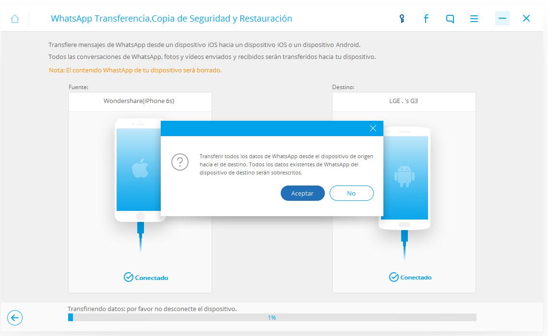 backuptrans iphone transferencia de whatsapp