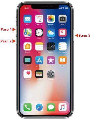 forzar reinicio de iPhone 6 para arreglar intento de recuperar datos