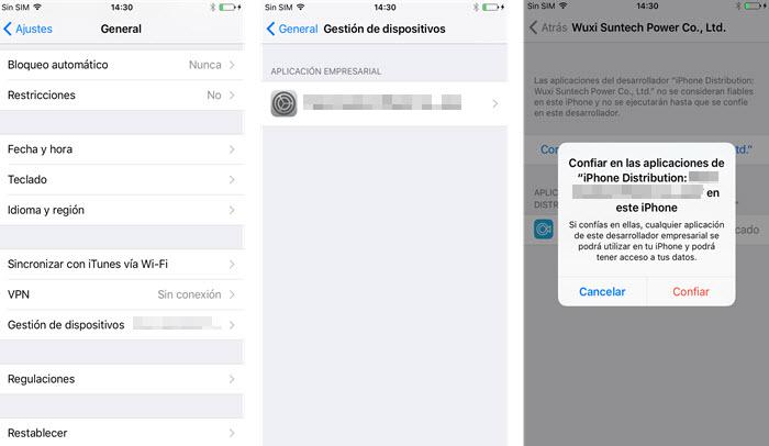 trust Grabadora de Pantalla iOS