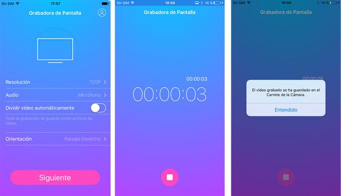 Grabadora de Pantalla iOS