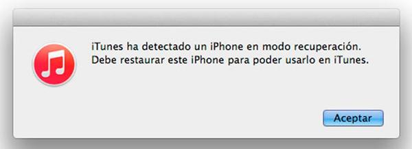 reparar iphone congelándose en modo dfu