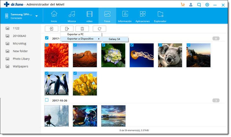 Respaldar Fotos de Android a PC