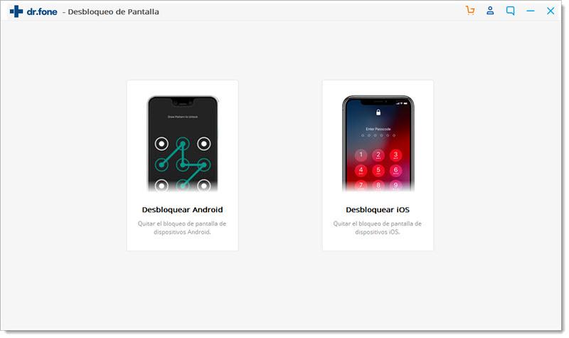 drfone  android ios desbloquear