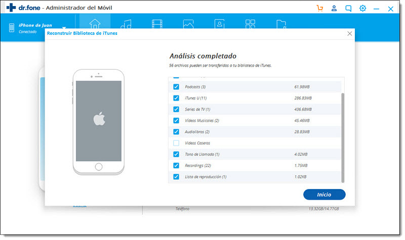 Sync iPhone with Multiple Computers with TunesGo