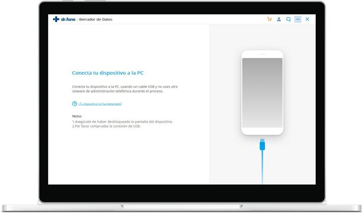 interfaz del borrador de android
