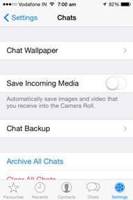backup whatsapp online