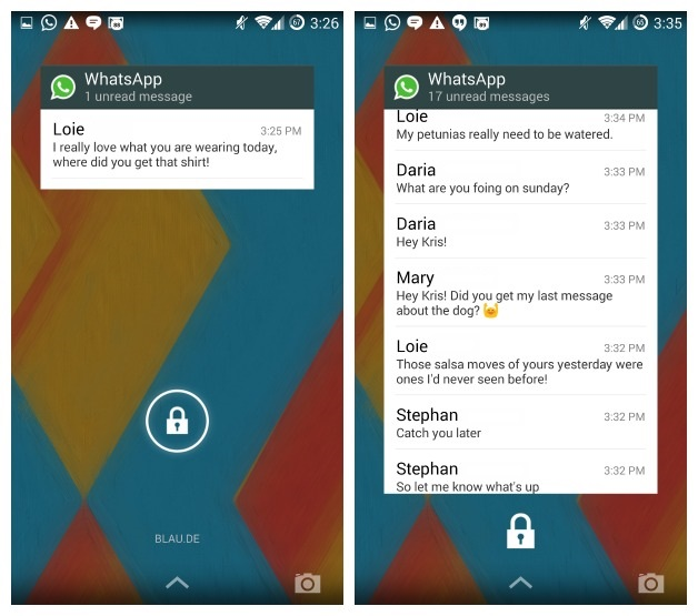 Add WhatsApp Widget on Android Phone