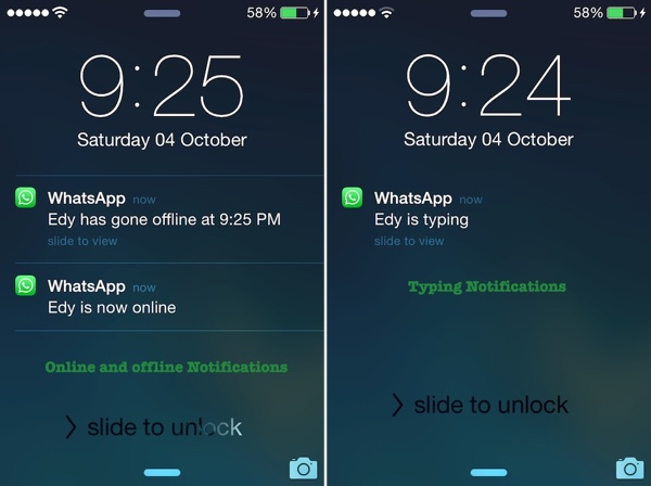 Add WhatsApp Widget on iPhone