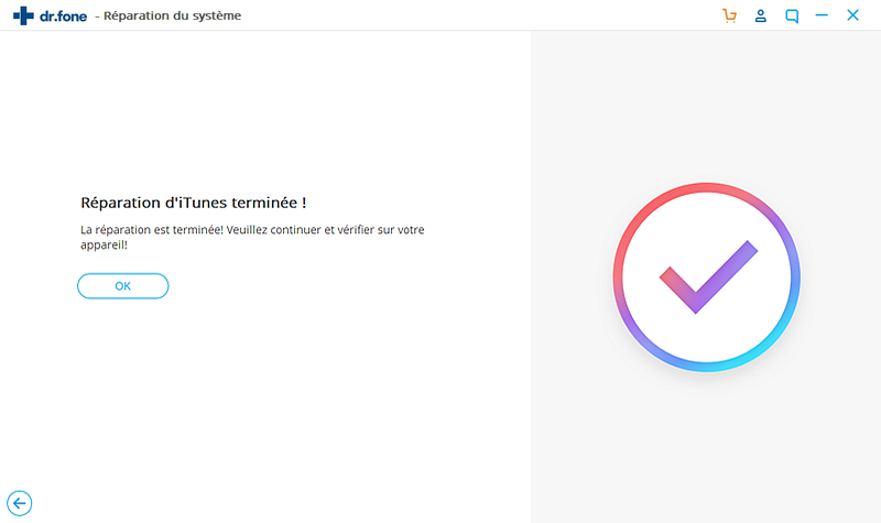 faire sortir le périphérique iOS du mode de récupération