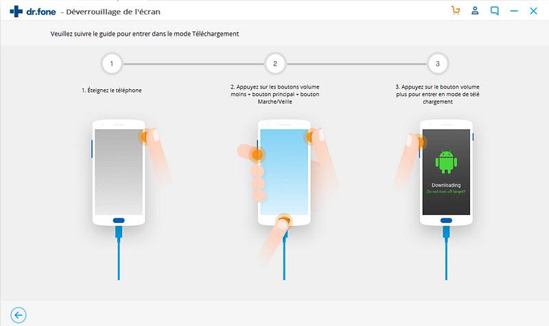 confirmer le modèle de l'appareil android