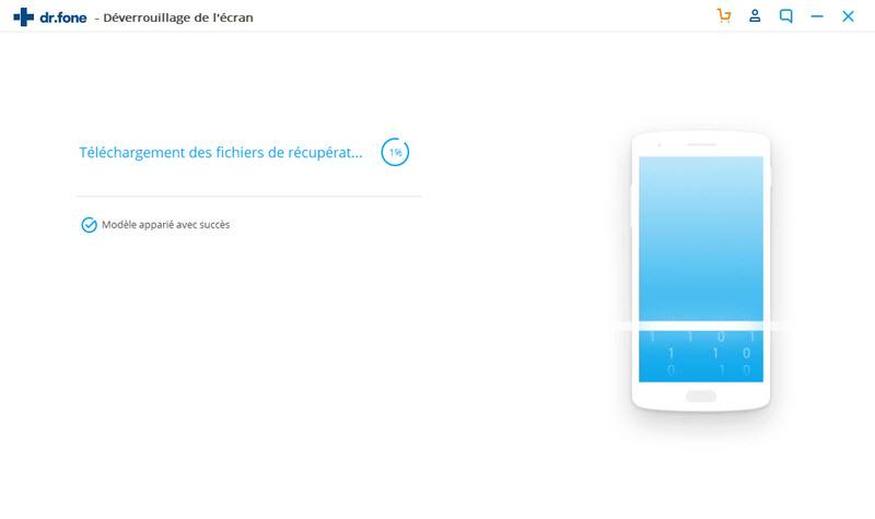 commencer à enlever l'écran de verrouillage Android
