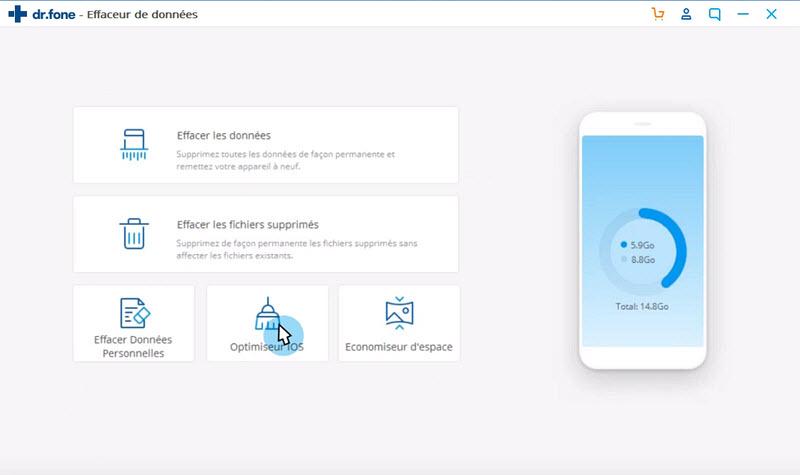 select iOS optimizer