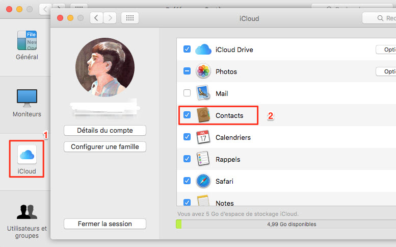 export contacts from itunes