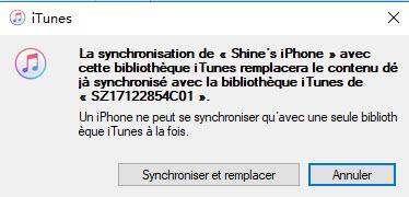 mettre musique sur iphone via iTunes