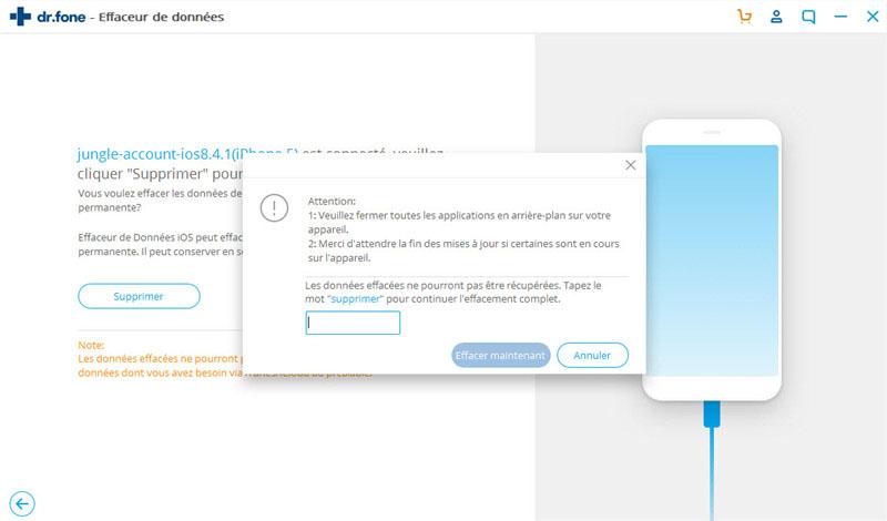 réinitialiser les paramètres d'usine iphone sans itunes