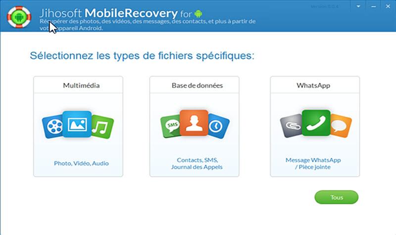 récupération de données WhatsApp gratuite
