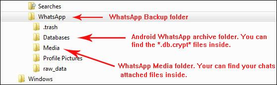 Extraction de sauvegarde WhatsApp-Comment lire les Conversations sur PC