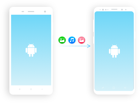 transfer from android to android