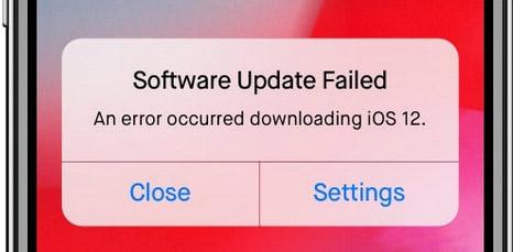 ios-14-problem – software-aktualisierung fehlgeschlagen