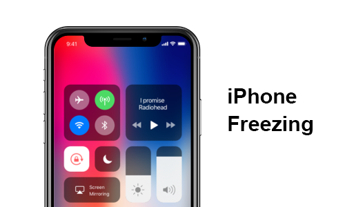 ios 12 iphone congelato