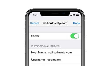 mail problems of ios 12 update