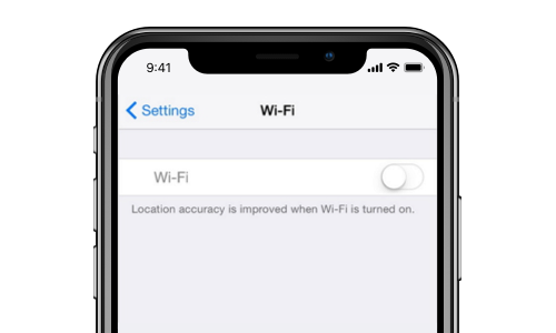 ios 12 problem of wifi