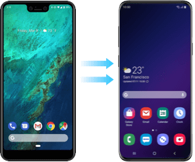 android to android data transfer