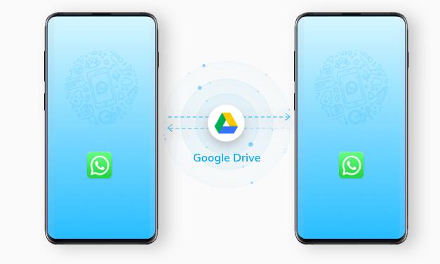 transfiere whatsapp usando google drive