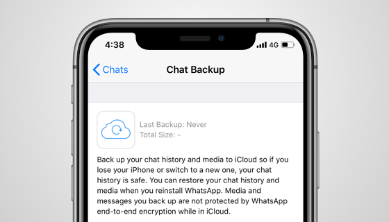 delete whatsapp chats backup