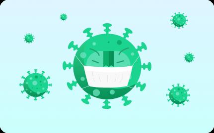 coronavirus anime
