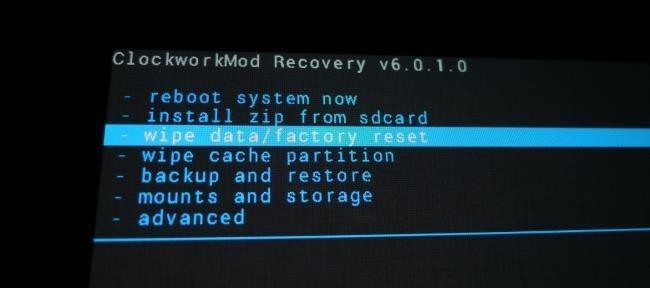 che cos e il recupero personalizzato su android