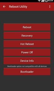 utility reboot