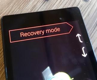 come arrivare al recupero del sistema android
