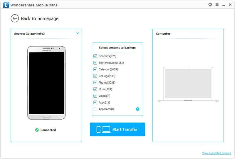 eseguire il backup dei dati android prima di eseguire la modalita di ripristino