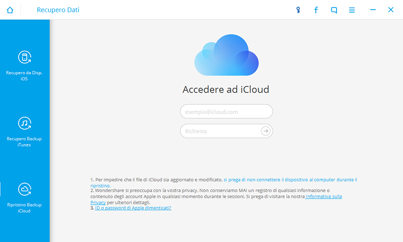 how to recover icloud data