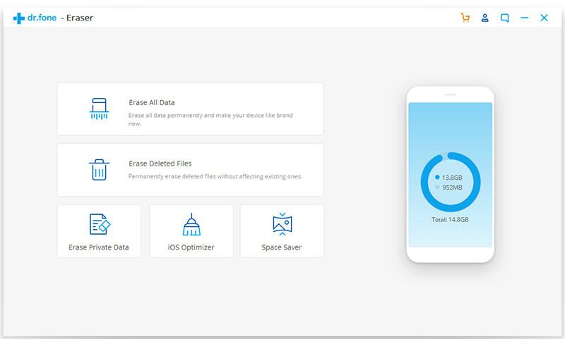 seleccionar optimizador de iOS