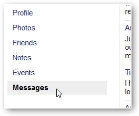 recupera i messaggi di facebook cancellati da un archivio scaricato