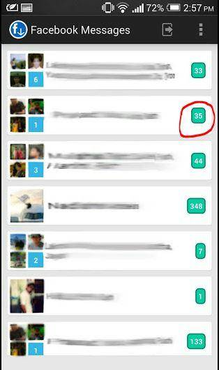 come esportare i messaggi facebook messenger per android